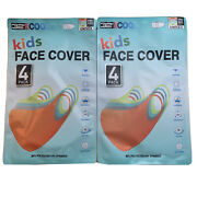 Kids Face Mask Cover 32 Degrees Cool Unisex One Size 8 Pack