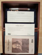 Omas William Shakespeare Sterling Silver Limited Edition Rollerball Pen