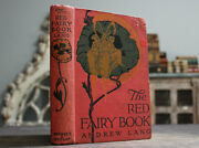 Rare Antique Old The Red Fairy Book 1910s Andrew Lang Illustrated Tales Scarce