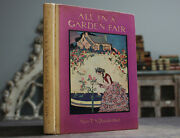Rare Antique Old Book Garden Flowers 1925 1st Edition Nature Scarce Reference