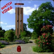New Woodstock Chimes Pachelbel Canon Wind Chime Bronze Musically Tuned Free Ship