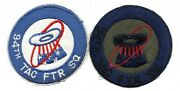94th Tactical Fighter Squadron Usaf Patch Subdued Lot Tfs March Afb