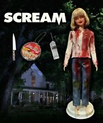 Casey Becker Drew Barrymore Scream Barbie Doll, Clothing And Accessories Ooak