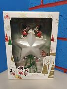 Disney Store Light Up Tree Topper Rare Mickey And Minnie