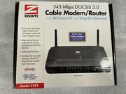 Zoom Docsis 3.0 Cable Modem And Wireless-n Router 5352-00-00