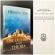 The Old Man And The Sea - First Edition - A + Seal - Ernest Hemingway 1952