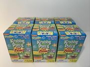 Lot Of 6 Krabby Patty Gummy Candy Plus Prize, Sealed, Frankford Collectible
