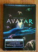 Avatar Dvd, 2010, 3-disc Set, Extended Collector's Edition James Cameron