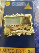 2021 Disney World 50th Anniversary Monorail Contemporary Pin Le 3000 New In Hand