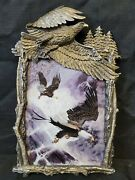 Bradford Exchange Flights Glory Masters Of The Rapids Ted Blaylock Eagle Plate