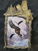Bradford Exchange Flights Of Glory Canyon Nest Builders Ted Blaylock Eagle Plate