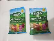 Black Forest Organic Gummy Bears Candy {lot Of 2 Bags}
