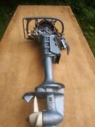 Evinrude Yachtwin 1967 3hp Model 3736 C Vintage Outboard Motor