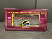 Mth Premier 20-3411f New York Central 35' Woodside Caboose New In Box M.378