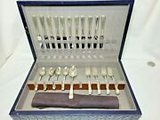 Westmorland Sterling Silver Flatware Set 34 Pieces Original Box Embossed Box A+