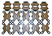 15 Sets 1988 1989 1990 1991 1992 Polaris 250 Trail Boss Front And Rear Brake Pads