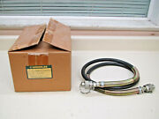 Greenlee 1289 3/8 X 6and039 10000 Psi Hydraulic Hose W/ Quick Connect Fittings New