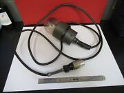 Leitz Wetzlar Lamp Cable [no Bulb] Toolmaker Microscope Part As Pictured H6-a-05