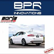 Borla Axle-back Exhaust S-type For 2017-2018 Ford Fusion Sport 2.7l Turbo 11942