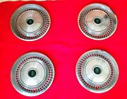 Set Of 4 72-74 Lincoln Continental Hubcaps Wheel Covers 15 Nice