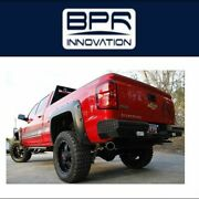 Fab Fours Fits For 2016-2017 Chevrolet/gmc Steel Ranch Rear Bumper- Ch14-t3050-1