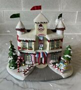 Hawthorne Village Charlieand039s Toys Toy Shop Rudolphand039s Christmas Town New