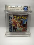 Pokemon Red Version 1st Print Game Boy Factory Sealed Wata Graded 9.2 A+ 🔥🔥