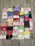 Huge Lot Of Baby Girl Clothes In Size 6-9 Month Old. Total 52 Pcs