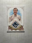 Jim Koch 2021 Topps Allen And Ginter Subject Used Relic Samuel Adams Logo Patch Sp