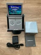 Gameboy Advance Sp - Modified Ips Screen - Includes Oem Charger And Box/inserts