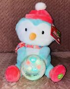 Nwt Sounds Lights Be Jolly Animated Christmas Penguin Singing Jingle Bells Dance