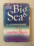 Langston Hughes The Big Sea Signed First Edition 1940 Knopf Hardcover Rare