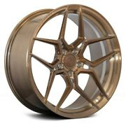 20andrdquo Rohana Rfx11 Brushed Bronze Concave Wheels For Chevy Camaro Ls Rs Lt