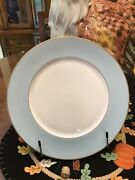 New Marchesa By Lenox Charger / Service Plate Sky Blue Set Of Three