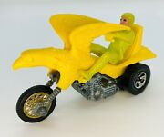 1972 Gorgeous Original Rrrumblers Bold Eagle Yellow Rare Lime Rider Track Guide