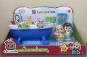 Brand New Cocomelon Musical Bathtime Playset Bath Squirters Jj Toy.
