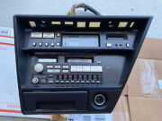 1988 Nissan 300zx 300 Zx Radio Unit And Digital Climate Control With Bezel