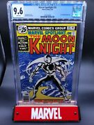 Marvel Spotlight 28 Cgc 9.6 1st Solo Moon Knight Story Disney+ Mcu White Pages