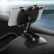 360anddeg Car Dashboard Mount Holder Clamp Clip For Cell Phone Gps Stand Accessories