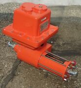 Indelac As6 Fail-safe Spring Return Electric Actuator, 600 In-lbs - New Surplus