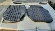 Mercedes W123 C123 Coupe Bucket Seat Black Upholstery 300cd 280ce Left Driver Oe