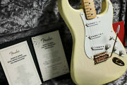 Fender Mij Made In Japan 2018 Limited Collection 50s Stratocaster White Blond