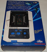 Vintage 1982 Tsukuda Great Escape Lsi Tabletop/handheld Game In Box/boxed/nos