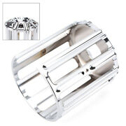 Oil Filter Caps Cover Trim Fit For Harley Twin Cam 2000-2017 Chrome Aluminum