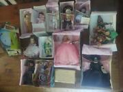Amazing Madame Alexander Wizard Of Oz Lot - Rare House Bed And 12 Dolls