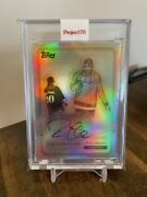 Topps Project 70 463 Deion Sanders 1968 By Snoop Dogg On Card Auto 1/1 Pre-sale