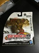 . Beyblade Metal Masters Gold Duotron Launcher B-206 2010 New