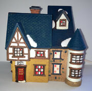 Owell Christmas Village Deluxe Lighted House Limited Edition Quilt Maker No Box