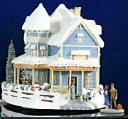Thomas Kinkade Hawthorne Village Christmas Collection Bed And Breakfast 2000