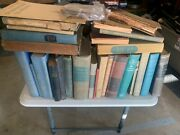 Estate Find Lot Of Antique Books Poems Short Story Many Very Old Books